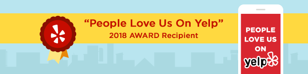 Mandy's Beauty wins People Love Us on Yelp Award 2018!